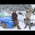 Impreza STi v Evo X… on ice! – by Autocar.co.uk