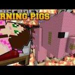 Minecraft: BURNING THE THREE LITTLE PIGS (WILL ANYONE SURVIVE!?) Mini-Game