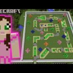 Minecraft: MINIATURE GOLFING GAME – MINE PARK – Custom Map [1]