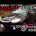 2009 Acura RDX Review, Walkaround, Exhaust, & Test Drive