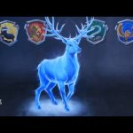 3D Chalk Art – Harry Potter's Patronus