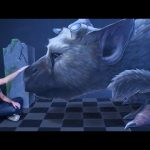 3D Chalk Art – The Last Guardian