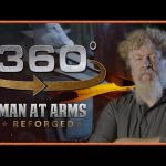Tour of Man At Arms: Reforged Shop in 360° – The Forging Room!