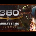 Tour of Man At Arms: Reforged Shop in 360° – The Grinding Room!