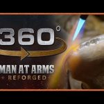 Tour of Man At Arms: Reforged Shop in 360° – The Machine Room!