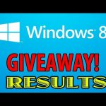 Windows 8 PRO GIVEAWAY: Results