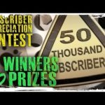 CLOSED – Contest & 10 Prizes!  (Subscriber Appreciation for 50K!)