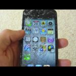 iPhone 5 Hammer Smash, Drop Test, Water Test, Knife Scratch Aftermath