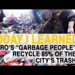 """TIL: Cairo's """"Garbage People"""" Farm Their City's Trash 
