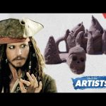 Pirates Of The Caribbean Sand Art – AWEme Artists