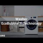 Samsung AddWash™ : EcoBubble™ Technology