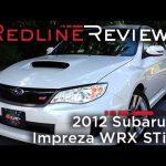 2012 Subaru Impreza WRX STi Review, Walkaround, Exhaust, & Test Drive