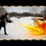 Can You Use a Flamethrower to Quickly Clear Snow?