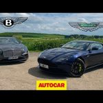 Bentley Continental GT vs Aston Martin DB11 AMR   Two great GT cars reviewed   Autocar