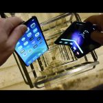 Dropping Samsung Galaxy Fold vs iPhone 11 Pro Max vs Nokia 3310 Down Spiral Staircase – 20 Stories